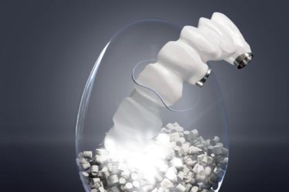 BioHPP – nowy  biomateriał nakonstrukcje bionicznych łączników indywidualnych orazstruktur implantoprotez stałych iruchomych.